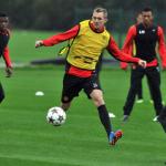 20131024Darren-Fletcher-Man-Utd-Training